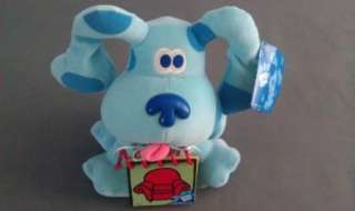 BLUES CLUES Eden Plush w/ Handy Dandy Notebook