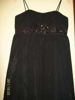 Wear Ladies Embellished Chiffon Cocktail Dress Black 16 NWT