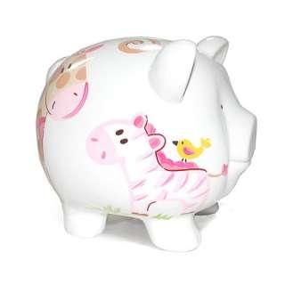 Child to Cherish Piggy Bank Jungle Jill Large 025094368140