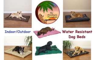 Indoor Outdoor Crate Mats & Dog Beds   Water Resistant