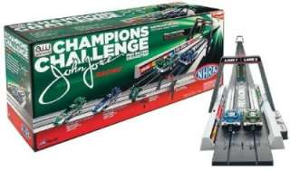 Champions Challenge slot car set AUTO WORLD 13 of track NEW