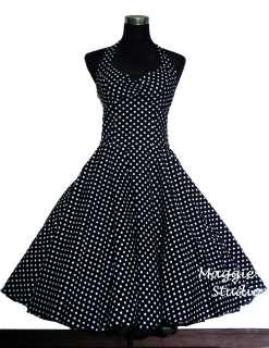 50er Jahre Tanz Kleid zum Petticoat Rockabilly Gr.34 42