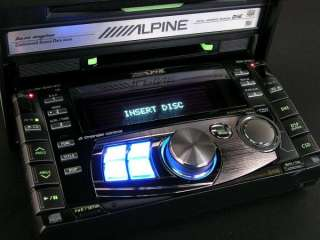 ALPINE MDA W955J CAR DOUBLE DIN CD MD STEREO EQ RADIO