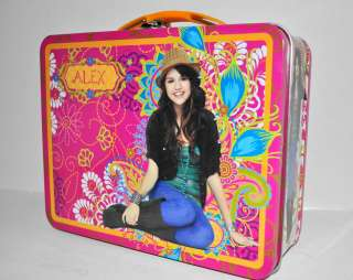 NEW Wizards of Waverly Place Selena Gomez Collectible Tin Metal Lunch