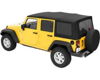 soft top storage hanger 07 13 jeep wrangler jk 4 door unlimited. Black Bedroom Furniture Sets. Home Design Ideas