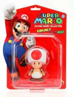 Magnifique figurine TOAD tirée du jeu vidéo Super Mario Bros.