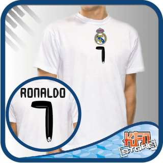 T SHIRT SOCCER HEROES REAL MADRID CRISTIANO RONALDO 1