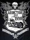 altre opzioni addiction motorcycle vintage shirt biker west coast cho