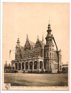 MILANO ESPOSIZIONE 1906 FOTO ORIGINALE PADIGLIONE EXPO