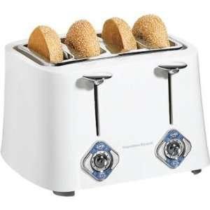 Hamilton Beach 4 Slice Extra Wide Slot Toaster Kitchen