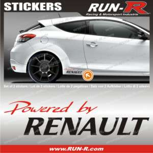 Sticker Renault  Twingo Clio Megane Wind Laguna RE132