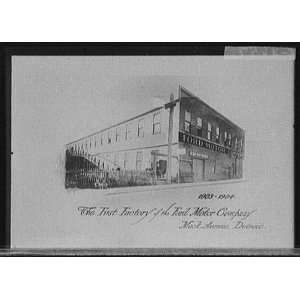 The First factory of the Ford Motor Company,Mack Avenue