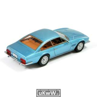 Neo scale model 1/43   Monteverdi 375 L 1969 bleu métallisé