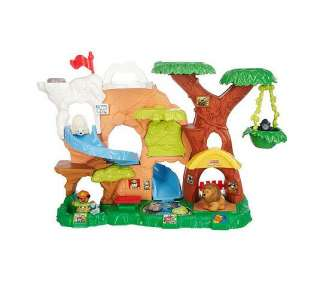 Fisher Price Little People Zoo Talkers Animal Sounds Playset   QVC