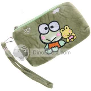 Cartoon Frog Coin Wallet Zipper Case Pouch Bag   DinoDirect