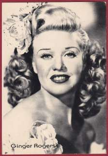 GINGER ROGERS 03 ATTRICE CINEMA MOVIE STAR DANZA