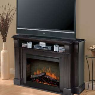 Dimplex Maestro Langley Electric Fireplace & 55 TV Stand in Espresso
