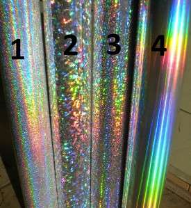 Set of 4 Nautical Star Holographic Stickers Car Window Decal