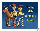 TOY STORY JESSIE 1 2 SHEET EDIBLE CAKE TOPPER IMAGE