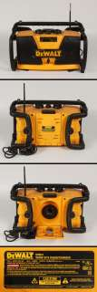 DeWalt DW911 Work Site Radio AM/FM Stereo 18 Volt Battery Charger