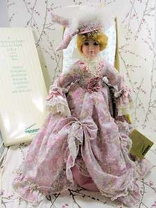 Seymour Mann Genevieve Hand Painted Porcelain Limited Doll w/ Box
