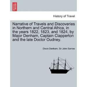 Doctor Oudney. (9781241701192) Dixon Denham, Sir John Barrow Books