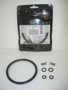 Keg Repair Kit Home Brew beer spare parts Pressure& Poppet valves & o