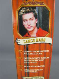 NSYNC Collectible Marionette LANCE BASS L Doll Boxed