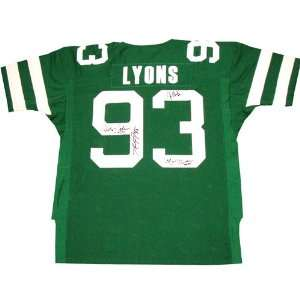 Marty Lyons Autographed Jersey   Sack Exchange NY