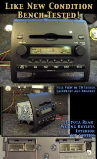 TOYOTA TACOMA CD RADIO STEREO 05 06 07 08 DISC PLAYER 2005 2006 2007