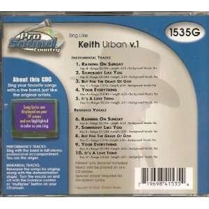 Sing Keith Urban v.1 Various Music