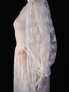 VINTAGE PAT SANDLER WELLMORE LACE SANTANA WEDDING DRESS
