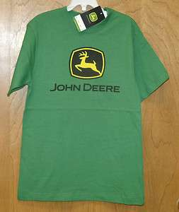 NEW GREEN John Deere Short Sleeve T Shirt Boys Sizes 4 5/6 7