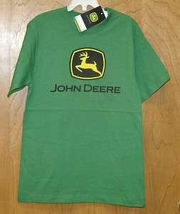 NEW GREEN John Deere Short Sleeve T Shirt Boys Sizes 4 5/6 7