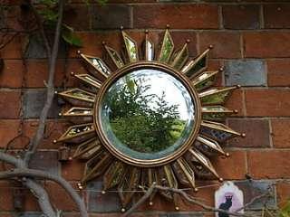 Buy Gold Sunburst Mirror By BeGolden from