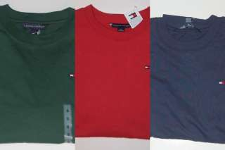 NWT boys TOMMY HILFIGER T shirt top long sleeve 8 10