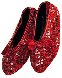 Ruby Slippers   Child  Costume Shoes  HalloweenMart