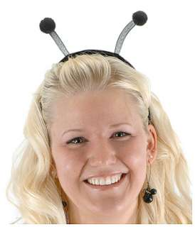Black Bug Antennae   Bumble Bee Halloween Costume Accessories