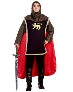 Mens Medieval Knight Adult Costume  Mens Renaissance Halloween