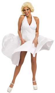 Marilyn Monroe White Dress Costume   Marilyn Monroe Costumes