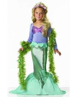 Little Mermaid Child Costume  Wholesale Mermaid Halloween Costume for