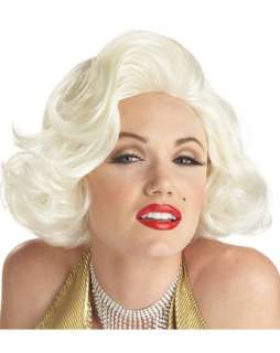 Adult Classic Platinum Blonde Marilyn Monroe Wig  Wholesale Halloween