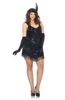Roaring 20s Honey Plus Size Costume for Halloween   Pure Costumes