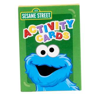 Sesame Street Sunny Days Activity Cards (4 count)     1630487