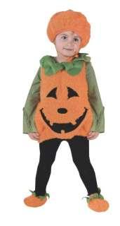 Child Pumpkin Cutie Pie Vest Costume   Classic Halloween Costumes