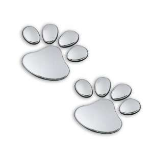 Dog Paw Sticker Decal Emblem with 3M self adhesive tape Automotive