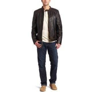 Marc New York By Andrew Marc Mens Relay 26 Inch Retro Calf Moto