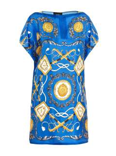Silk scarf print dress  D&G