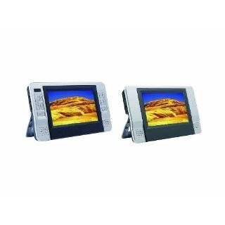 Sylvania SDVD8727 7 Inch Dual Screen Portable DVD Player. by Curtis
