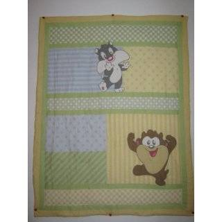 Baby Looney Tunes Tweety Circles Window Valance, Sage Baby